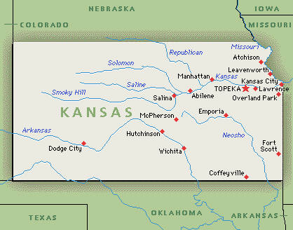 Distance From Manhattan Ks To Kansas City Ks